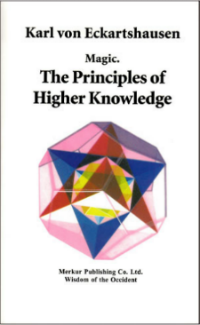 Magic: The Principles of Hight Knowledge by von Eckartshausen Occult