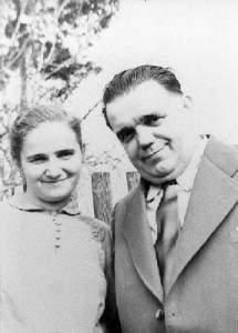 Daughter Marie & Franz Bardon